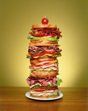 Dagwood Sandwich 2