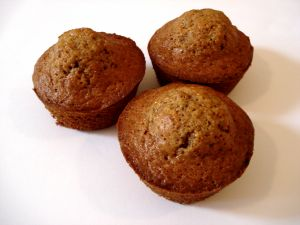 Carrot Oat Muffins