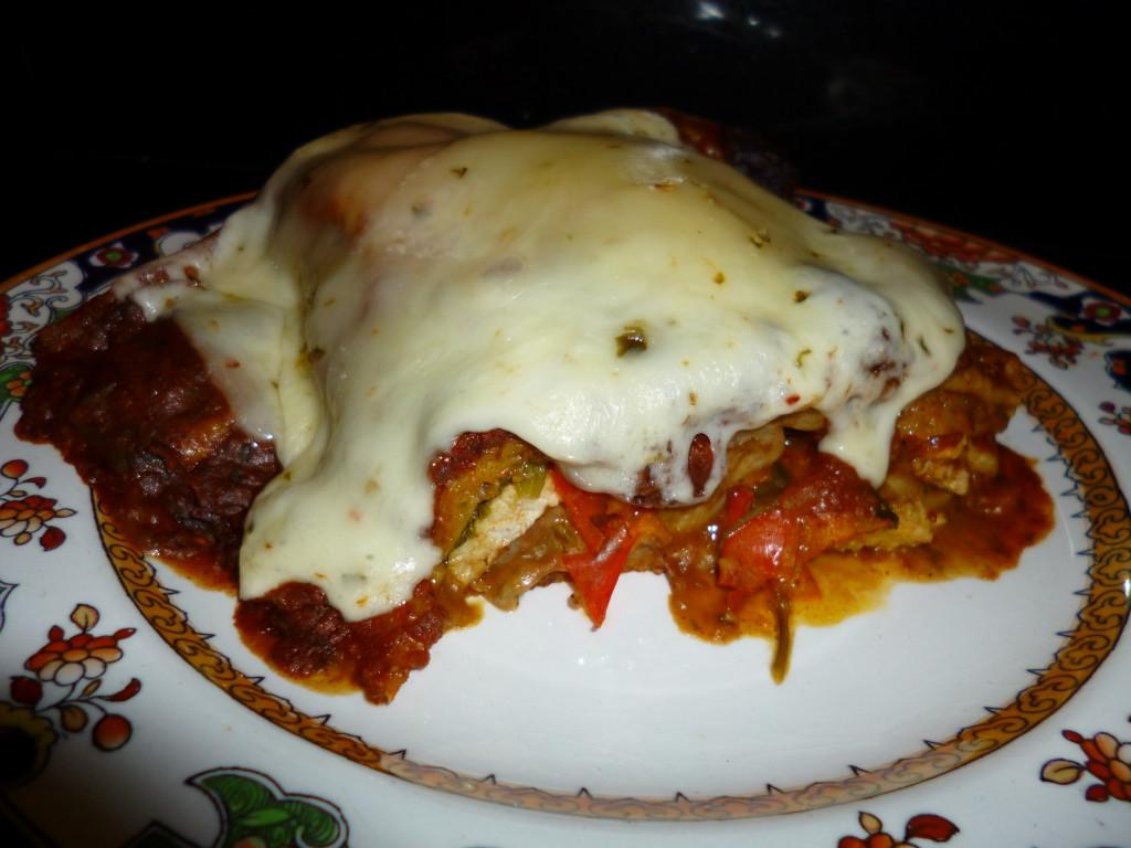 Victoria's Pork Enchiladas