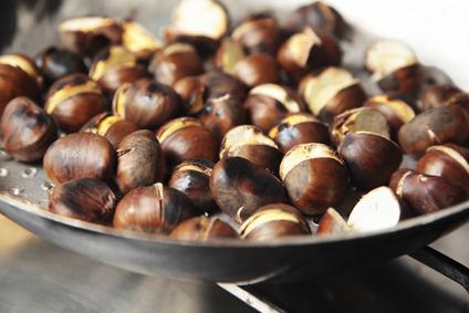 Roasted Fresh Chestnuts