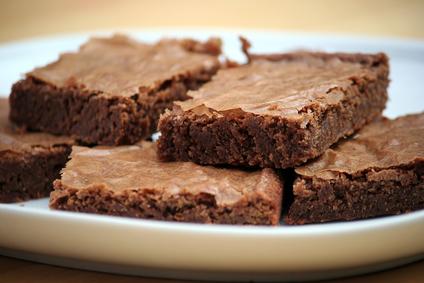 Fudgy Low-Fat Brownies