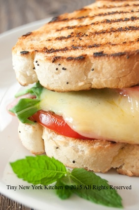 Crabmeat Grilled Cheese