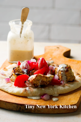 Chicken Pitas