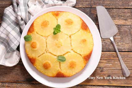 Pineapple Upside Down Skillet Cake