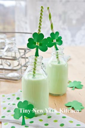 St. Patrick's Day Milkshakes
