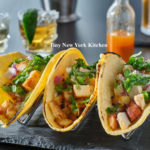 Grilled Pineapple Chicken Street Tacos