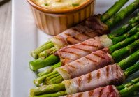 Asparagus Prosciutto Rolls