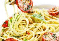 Basil And Tomato Spaghetti
