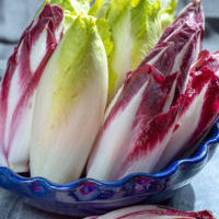 Belgian Endive & Radicchio Salad With Buttermilk Dressing