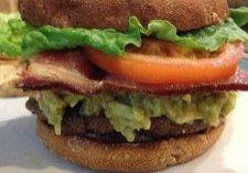 Camille's Guacamole Bacon Burgers 2