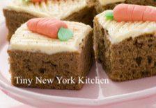 Maple Bourbon Carrot Cake