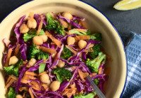 Chickpea & Cabbage Bowl