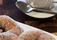 Shaker Cinnamon Sugar Doughnuts