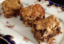 Coconut Chocolate Chunk Oat Bars 4
