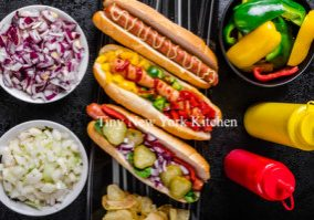 Hot Dogs 8 Ways