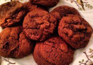 Double Dark Chocolate Cookies 2