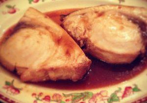 Fish In Ponzu Sauce