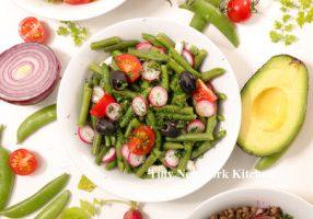 Fresh Green Been & Cherry Tomato Salad