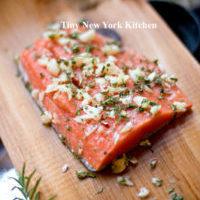 Grilled Cedar Plak Salmon copy