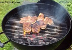 Grilled Duck Breasts