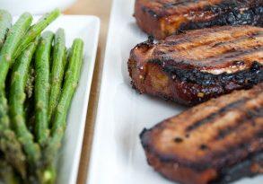 Grilled Teriyaki Pork Chops