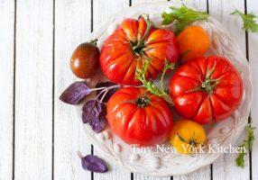 Marinated Heirloom Tomatoes