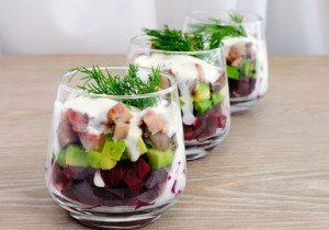 Herring Salad In Cream Sauce