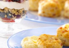 Holiday Cheddar Biscuits