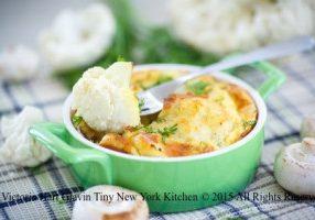 Individual Potato & Cauliflower Gratins