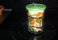 Jam Jar Salad