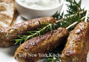 Lamb Kofta & Yogurt Sauce