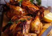 Lemon, Garlic & Herb Rubbed Whole Chicken