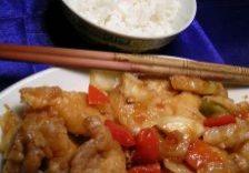 Low Fat Sweet & Sour Chicken