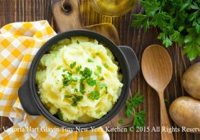 Herbed Cheese Mashed Potatoes