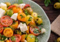 Fresh Herb Mediterranean Salad