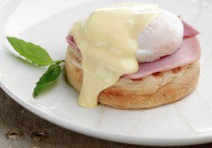 Mother's Day Eggs Benedict
