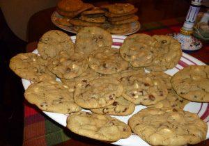 Victoria's White & Dark Chocolate Chip Cookies