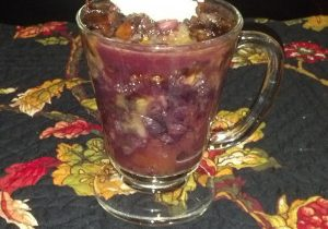 Peach & Blueberry Crisp