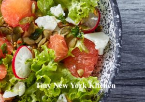 Pink Grapefruit Salad