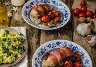 Prosciutto Wrapped Chicken Breasts