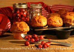 Sour Cream Pumpkin Muffins