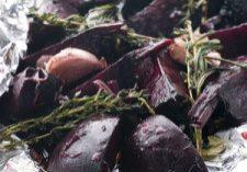 Garlic & Herb Roasted Beets