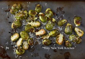Roasted Brussels Sprouts With Parmesan Cheese