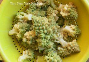 Oven Roasted Romanesco Broccoli