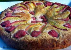 Victoria's Garden Party Cake