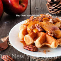 Waffles With Maple & Apples