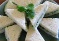 Watercress Tea Sandwiches