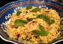 Yellow Squash & Tuna Pasta 2