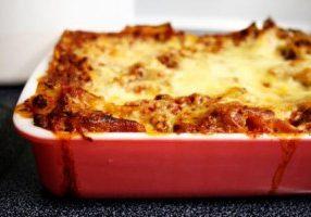 Sinful Lasagna